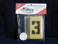 Numbering Stencil Kit